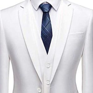 Other - Men's 3 Piece Slim Fit Suit, One Button Jacket